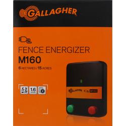 Electrificateur/poste de clôture Gallagher secteur M160 (230V - 1,6 J) Electrificateurs sur secteur
