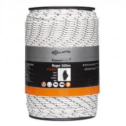 Cordon PowerLine (blanc, 500 mètre) Fil, cordon, barbelé