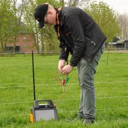 Prise de terre (0,5m + 3m câble) Mise à la terre