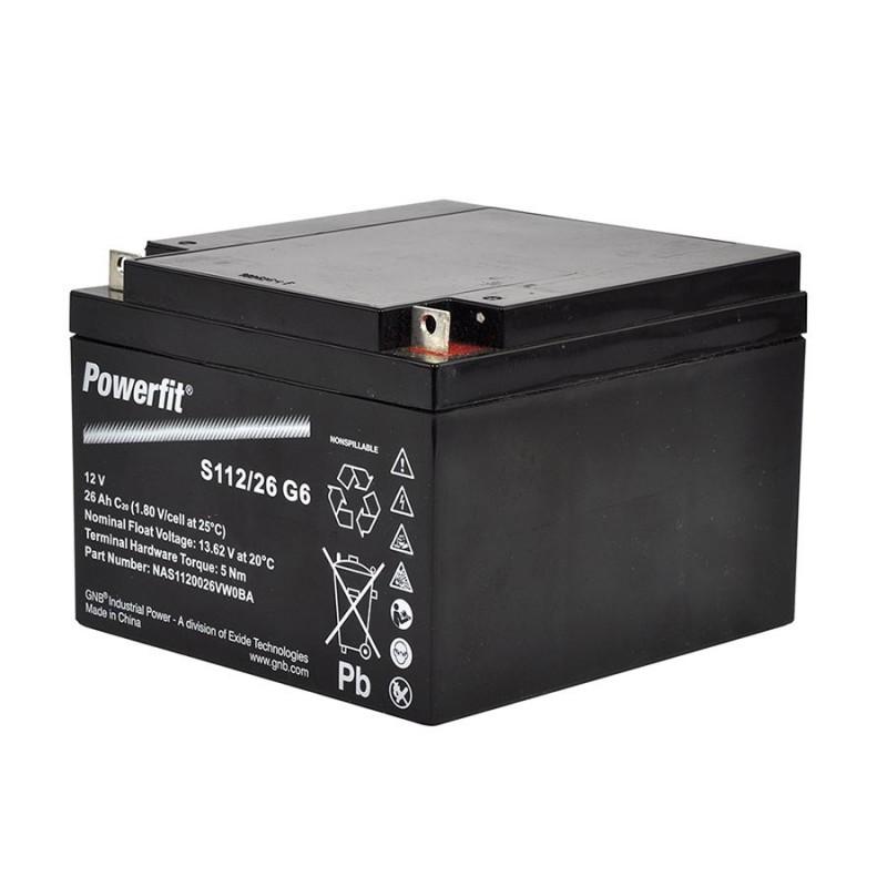Batterie 12V (pile gel scellé) (25Ah) Batteries de clôtures électriques