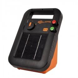 Electrificateur/poste de clôture Gallagher solaire S16 avec batterie (6V - 0,16 J) Electrificateurs énergie solaire