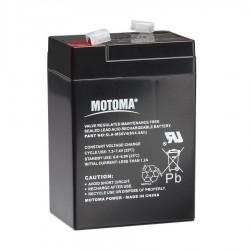 Batterie 6V, 4Ah pour S10, S16, S20 Batteries de clôtures électriques