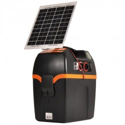 Electrificateur/poste de clôture Gallagher batterie B200 + Kit solaire 6W Electrificateurs énergie solaire