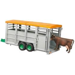 Remorque bétaillère avec vache Remorques miniatures