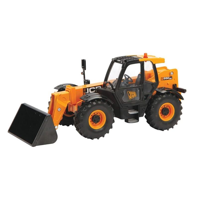 Télescopique JCB 550-80 avec accessoires Tracteurs miniatures