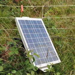 Panneau solaire 20W avec régulateur de 2A Accessoires de clôture