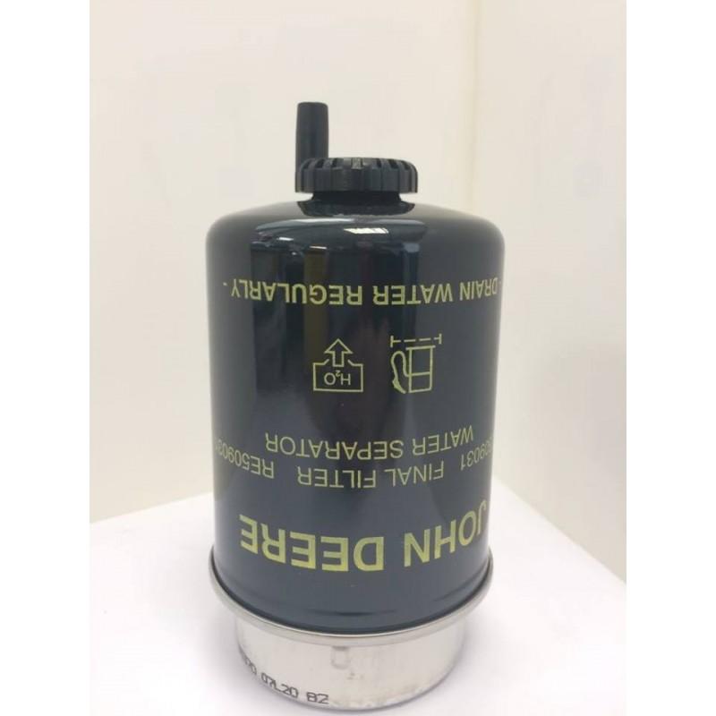Filtre décanteur John Deere RE509031 Filtre à carburant