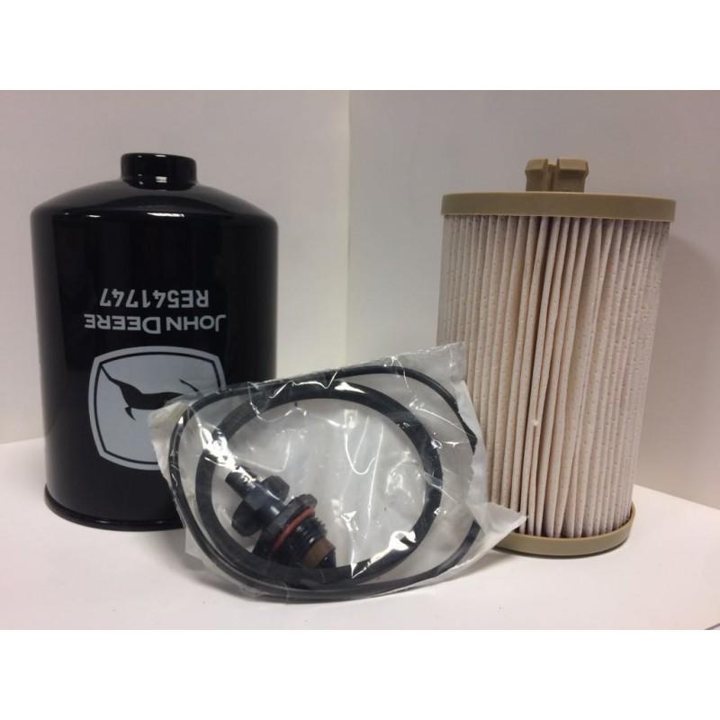 Filtre à gazole John Deere RE541746 Filtre à carburant