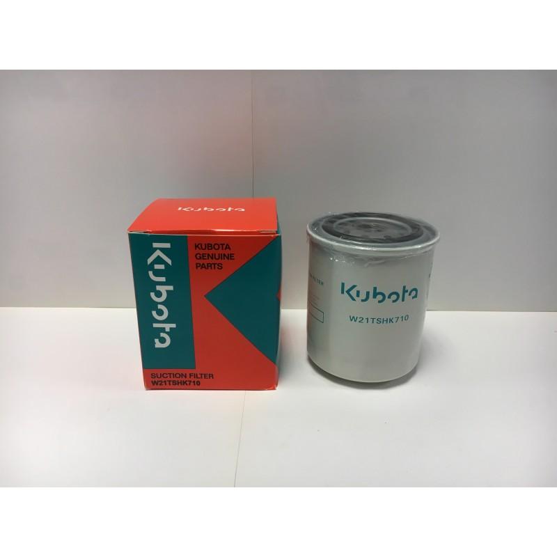 Filtre à huile hydraulique Kubota W21TSHK710 (HHK7214080) - Origine Filtres hydrauliques