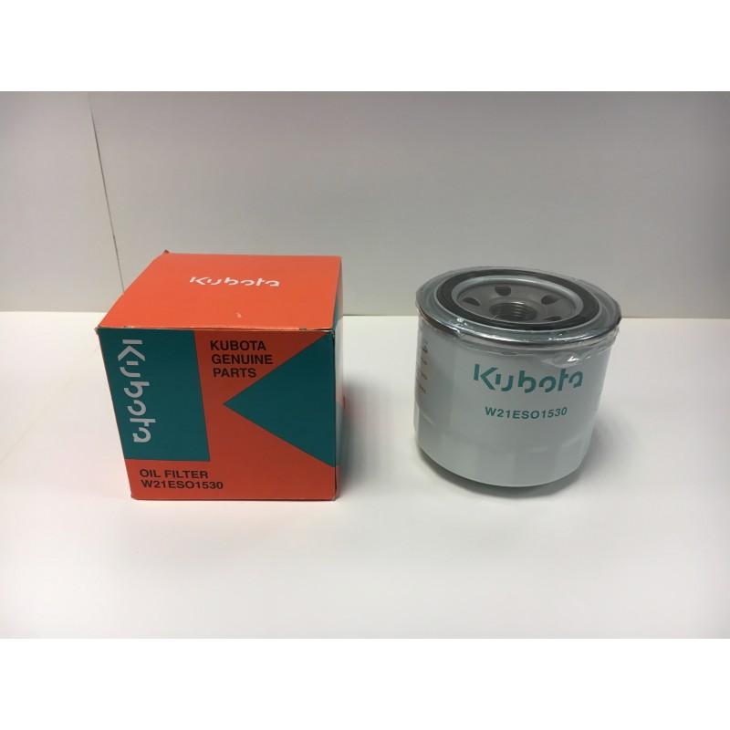 Filtre à huile Kubota W21ESO1530 - Origine Filtre à huile