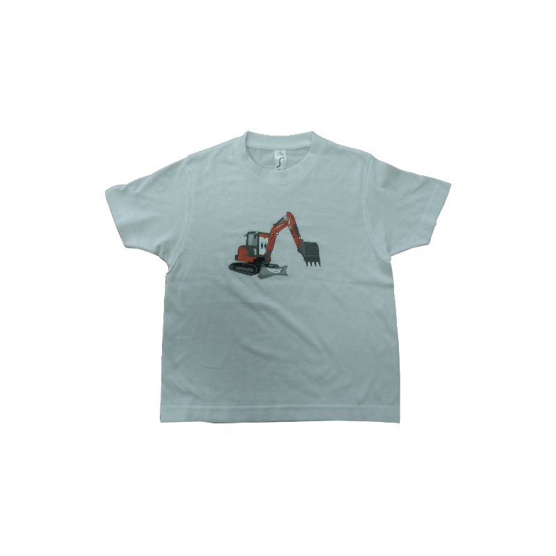 T-shirt enfant travaux public Kubota T-shirt