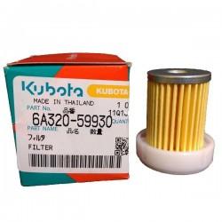 Filtre à carburant Kubota 6A320-59930 Filtre à carburant