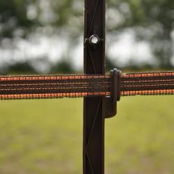 Piquet plastique clôture chevaux 1,05m (terra) Piquets mobiles