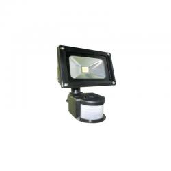 Projecteur LED avec détecteur 10W 900-1000LM Projecteurs