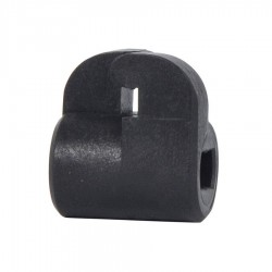 Isolateur pour clôture bi-conducteur positif-négatif (30 pcs) Isolateurs à distance