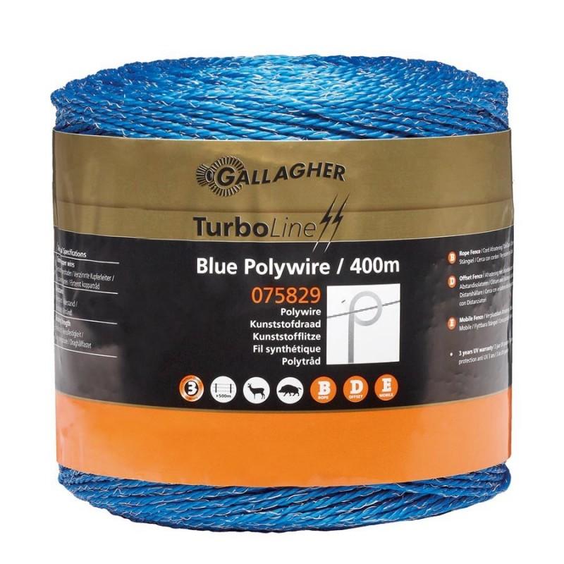 Fil bleu 400m Fil, cordon, barbelé