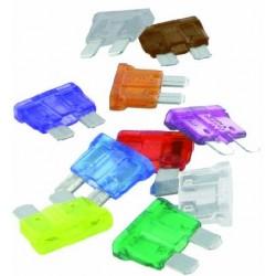 Fusible standard panaché transparents enfichables Fusibles