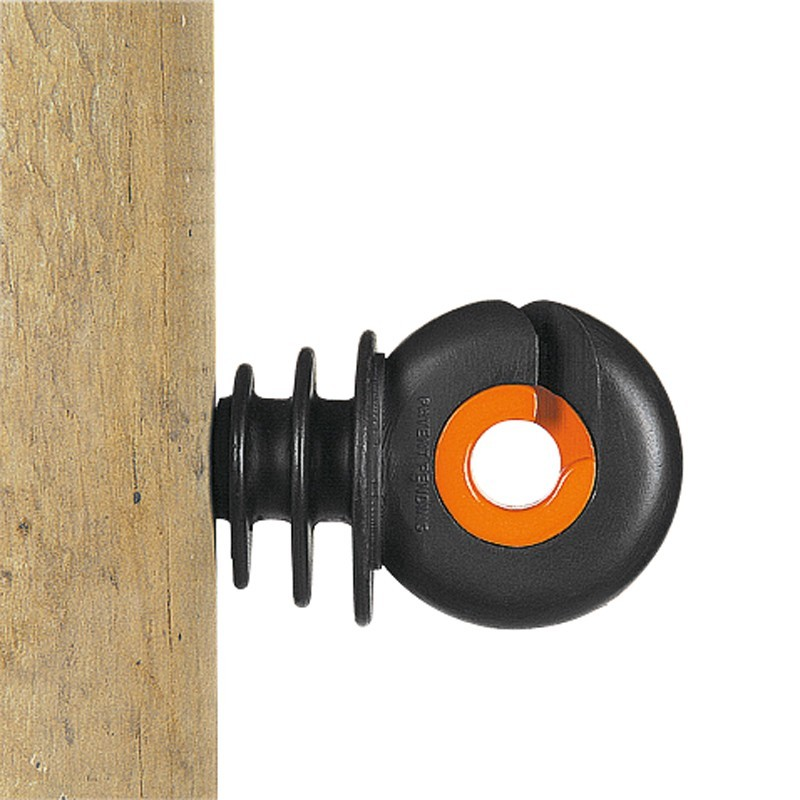 Isolateur à vis XDI (75 pcs) Isolateurs piquets permanents