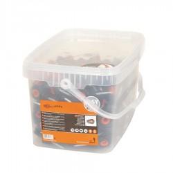Isolateur à vis XDI (250 pcs) Isolateurs piquets permanents