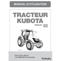 MANUEL D'UTILISATEUR KUBOTA...