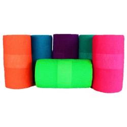 Bandes cohésives couleur fluo Protection