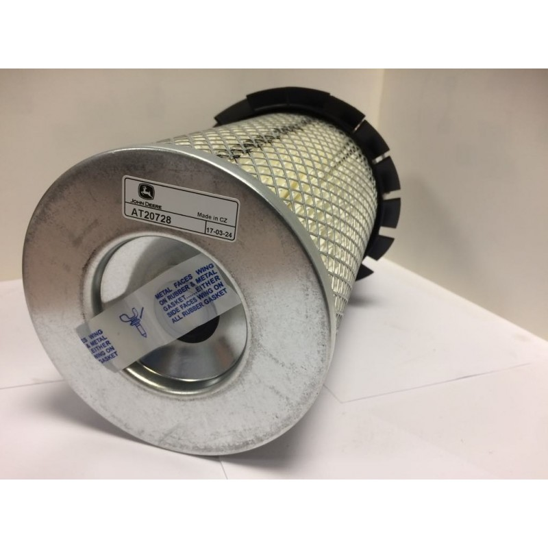 Filtre à air moteur John Deere AT20728 Filtres à air