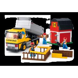 Sluban Dump Truck Camion benne Camions miniatures