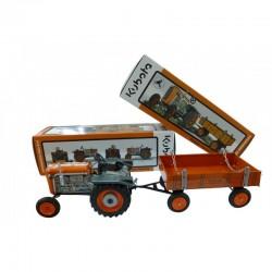 Tracteur Kubota T15 avec remorque Tracteurs miniatures
