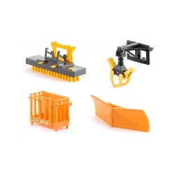 Accessoires pour chargeur frontal Accessoires miniatures
