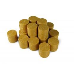 Lot de 20 balles de foin rondes Accessoires miniatures