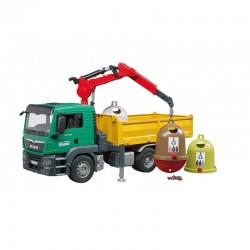 Camion Man TGS recyclage avec conteneurs Camions miniatures