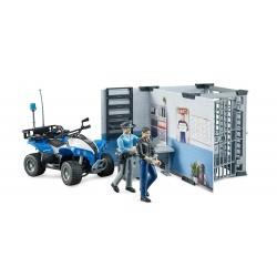 Coffret police avec quad Accessoires miniatures