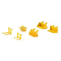 Set d' accessoires pour chargeur frontal Accessoires miniatures