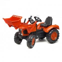 Tracteur à pédales Kubota M135GX avec chargeur Tracteurs à pédales et accessoires