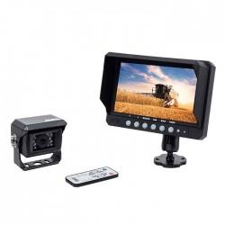 """Kit vidéo AMS 2 entrées 9"""" 1 caméra Kits vidéos"""