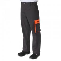 Pantalon de travail Kubota gris Pantalons