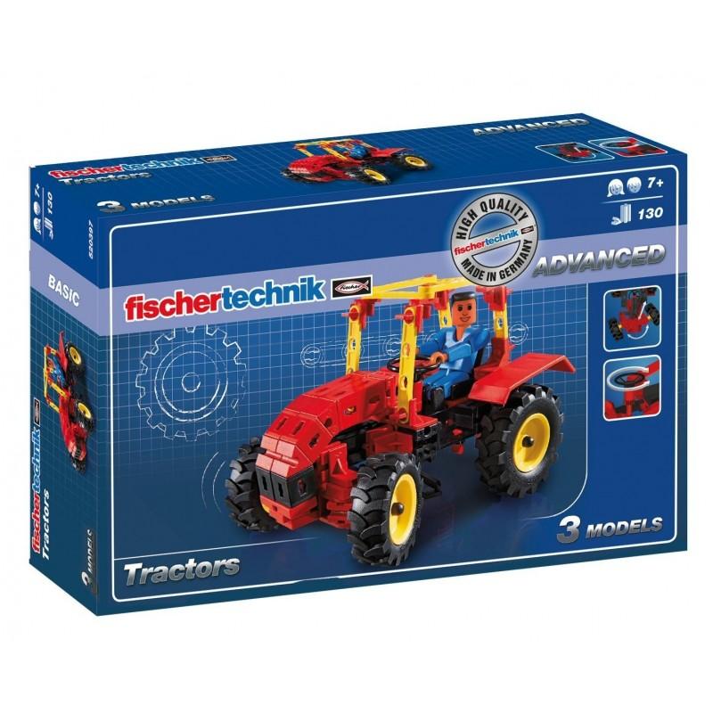 Construction tracteur 130 pièces Tracteurs miniatures