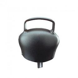 Cloche en acier bombé Black-Blue 64mm Cloches