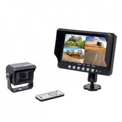 """Kit vidéo AMS 4 entrées 9"""" 1 caméra Kits vidéos"""
