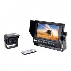 """Kit vidéo étanche AMS 7"""" 2 entrées 1 caméra Kits vidéos"""