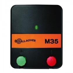 Electrificateur/poste de clôture Gallagher sur secteur M35 Electrificateurs sur secteur