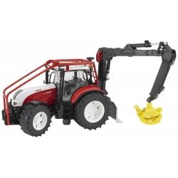 Tracteur forestier STEYR CVT 6230 avec chargeur Tracteurs miniatures