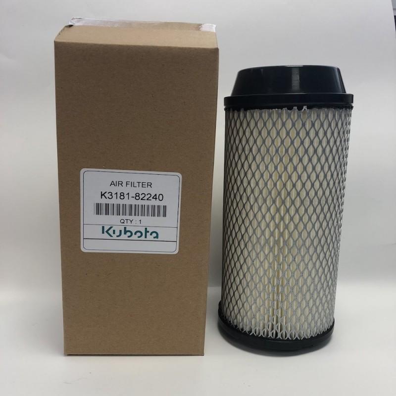 Filtre à air externe Kubota K3181-82240 Filtres à air