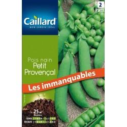 Graines pois nain petit provençal Caillard Haricots, pois & fèves