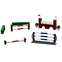 Petit set parcours de saut d'obstacles Déstockage jouets