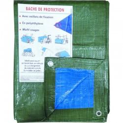 Bâche de protection 2x3m 80gr avec oeillets Bâches de protection