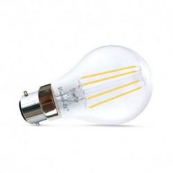 Ampoule B22 filament Bulb 8W 4000°K Ampoules