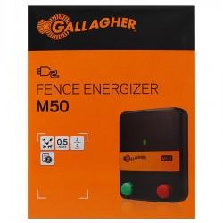 Electrificateur/poste de clôture Gallagher secteur M50 (230V - 0,6 J) Electrificateurs sur secteur