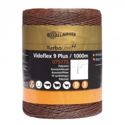 Vidoflex 9 TurboLine Plus (terra, 1000 mètre) Fil, cordon, barbelé
