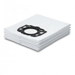 Sachet filtre toison Karcher WD4 à WD6 (4 pcs) Accessoires de nettoyage